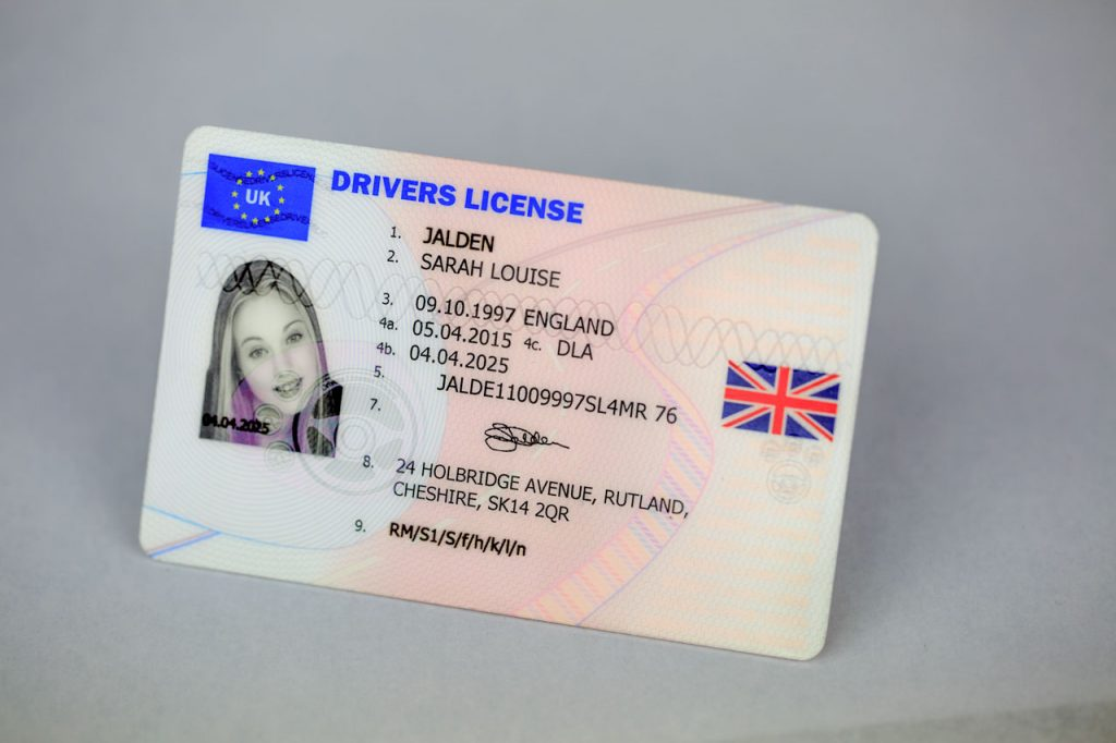 real driving license online