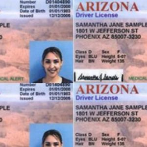 arizona usa driving license for sale