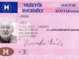 Buy Hungarian Driving License Online
