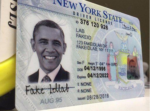 Fake ID cards