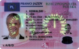Buy Polish Drivers License That Work