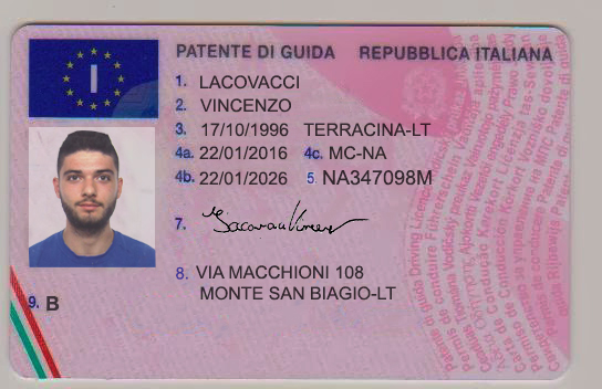 Driver license exchange in italy