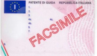 driving license exchange in italy