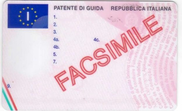 purchase registered Italy driving license